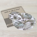 Pack Papel Plato de sitio/Individual Palma Tropical