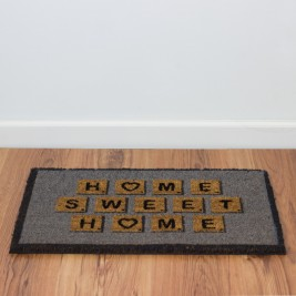 Felpudo Home Sweet Home Scrabble