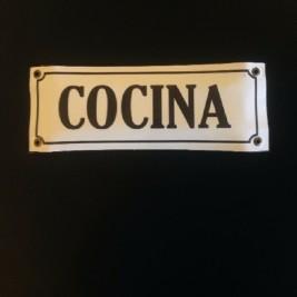 Cartel Rectangular Cocina