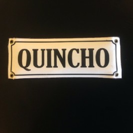 Cartel Rectangular Quincho
