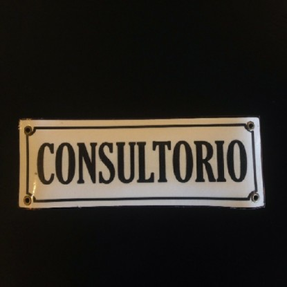 Cartel Rectangular Consultorio