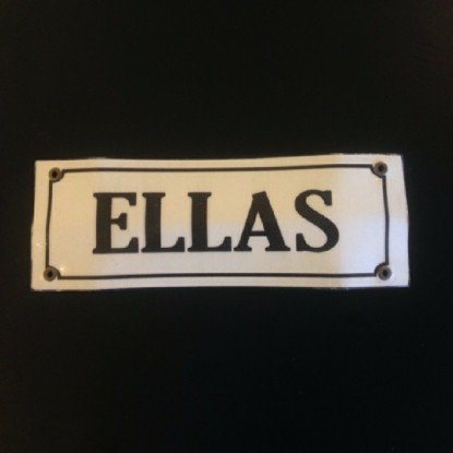 Cartel Rectangular Ellas