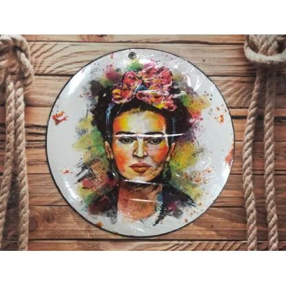 Cartel Frida Khalo Blanco