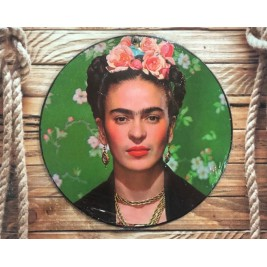 Cartel Frida Khalo Verde