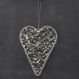 Colgante Corazón alambre