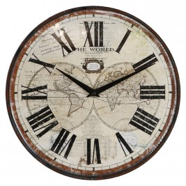 Reloj The world - Números romanos -