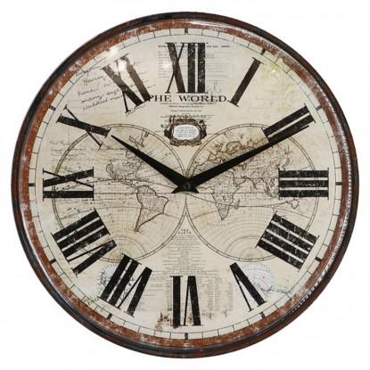 Reloj The world - Números romanos -