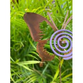 Pinche Porta espiral - Mariposa Calada