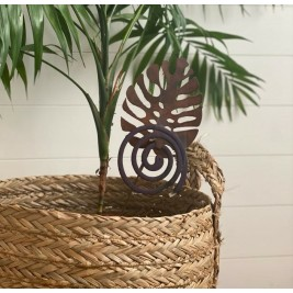 Pinche Porta espiral de maceta - Hoja