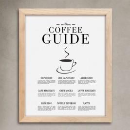 Cuadro Gastro Coffee Guide