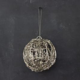 Colgante Esfera alambre