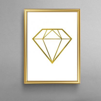 Cuadro Diamante Nórdico